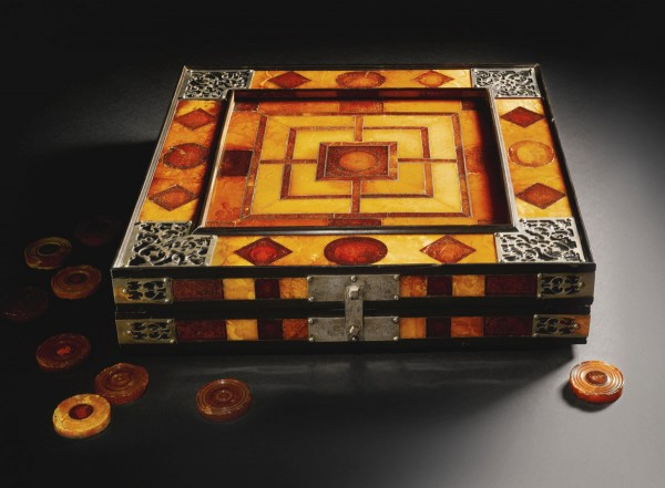 this December Sotheby's will be auctioning off a unique 17th century amber board game that comes to the market with an estimate of £300,000-500,000