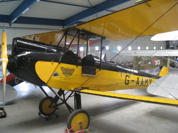 1929 De Havilland DH 60GMW Gipsy Moth bi-plane