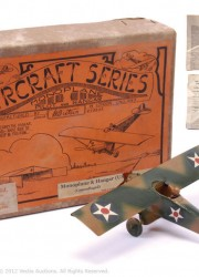 70 Year Old WW2 Toy Plane Sold for £10,000 at Auction