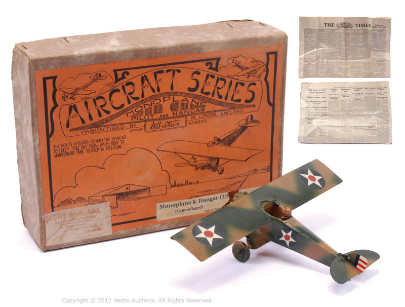 70 Year Old WW2 Toy Plane Sold for 10,000 at Auction