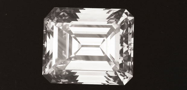 Unmounted Emerald-cut Type IIa 9.26 Carat Diamond Comes Up for Live Bidding