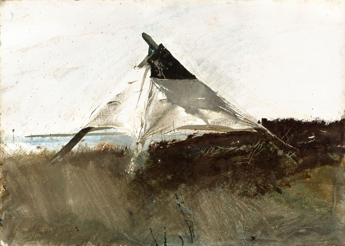 ANDREW WYETH Coastal Survey