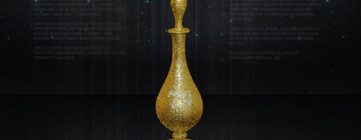 $900,000 Aurum 79 is now the World's Most Expensive Water Bottle