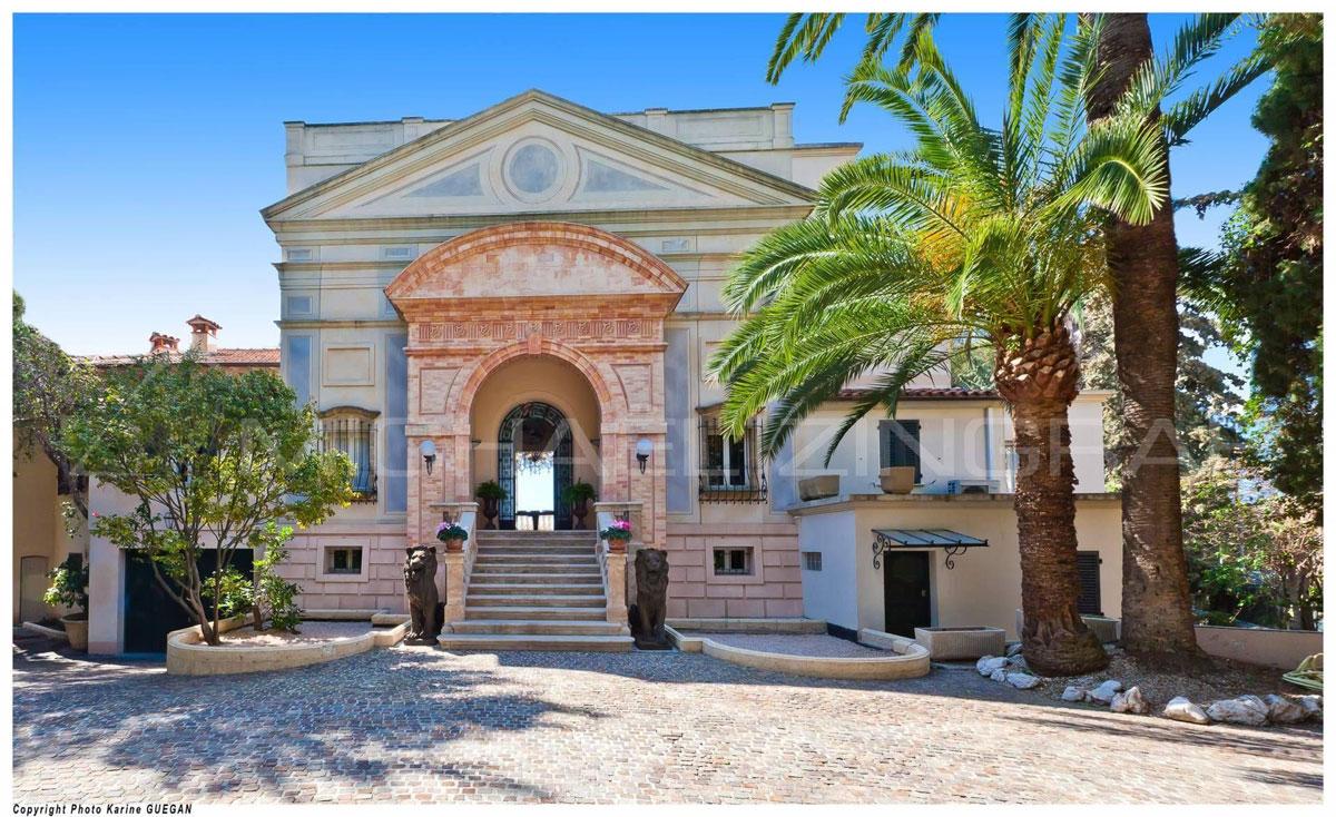 Belle Epoque Style Villa in Cap d'Ail, Azure Coast on Sale ...