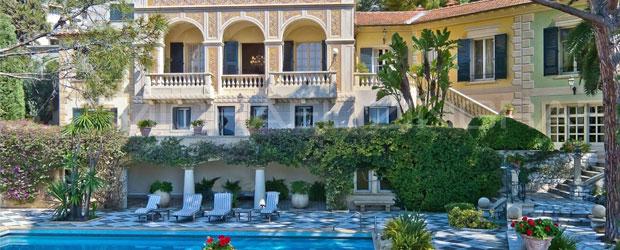 Belle Epoque Style Villa in Cap d'Ail, Azure Coast on Sale for $33.5 Million