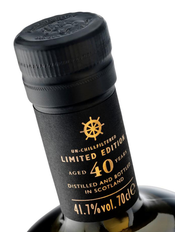 Bunnahabhain Release Rare 40yo Islay Single Malt