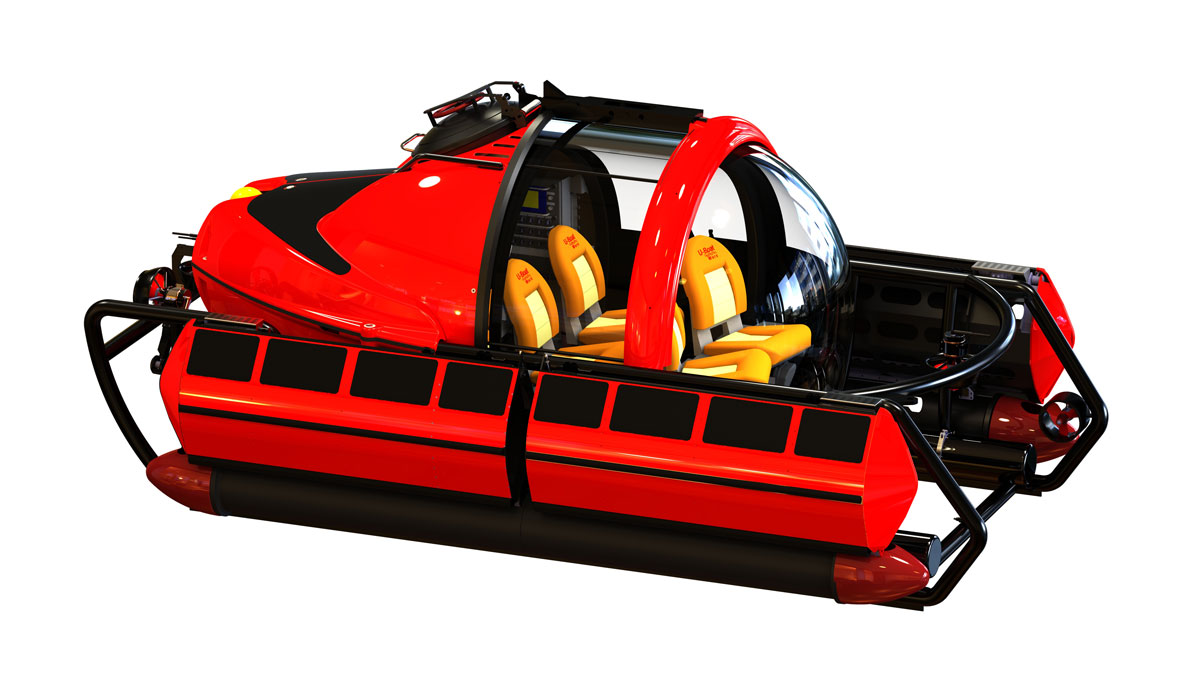 C-Explorer 5 Luxury Submarine by U-Boat Worx