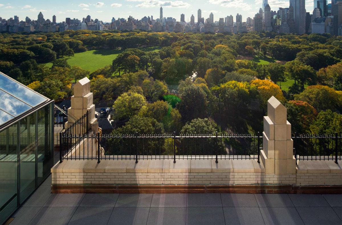 Calvin klein 39 s new york city penthouse on sale for 35 for New york penthouses for sale luxury