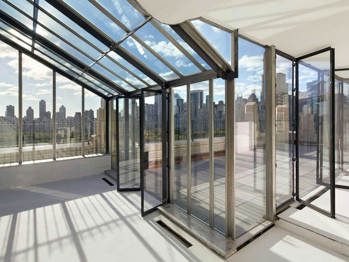 Calvin klein 39 s new york city penthouse on sale for 35 for Penthouses for sale in manhattan