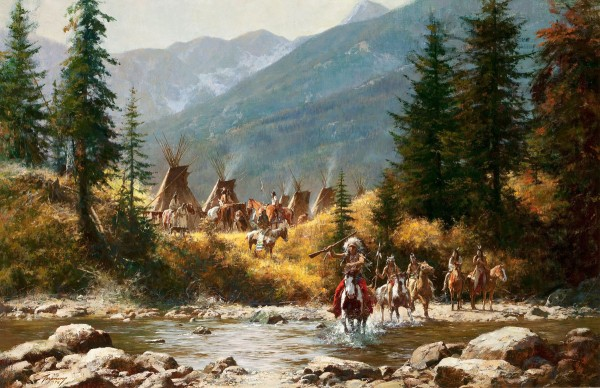 Howard Terpning's Crow Country