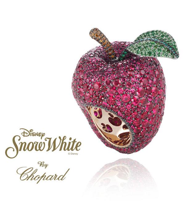 Snow White Gemstone Ring
