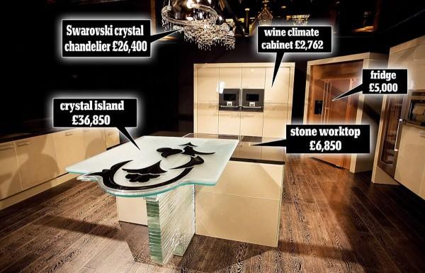 Fiore di Cristallo - World's Most Expensive Kitchen