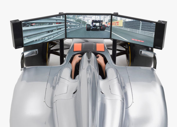 Full Size Formula 1 Racing Car Simulator Can be Yours for $144,790