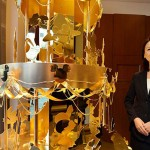 Ginza Tanaka's Gold Christmas Tree with Disney Motif for $4.2 Million