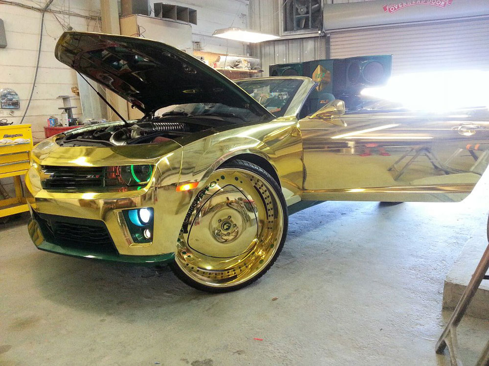 Gold King ZL1 Camaro