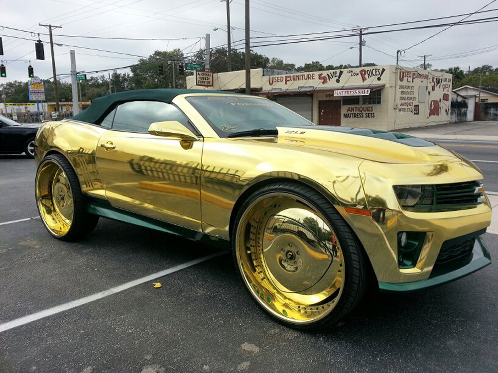 Gold King Zl1 Camaro The Topic Controversy These Days