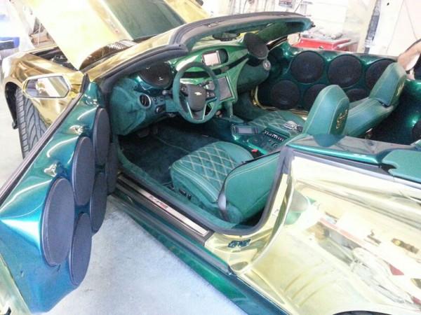 Gold King ZL1 Camaro