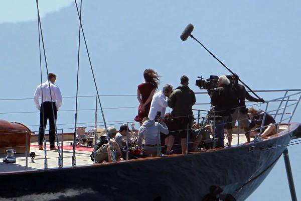 James Bond Superyacht Regina From Skyfall Movie X