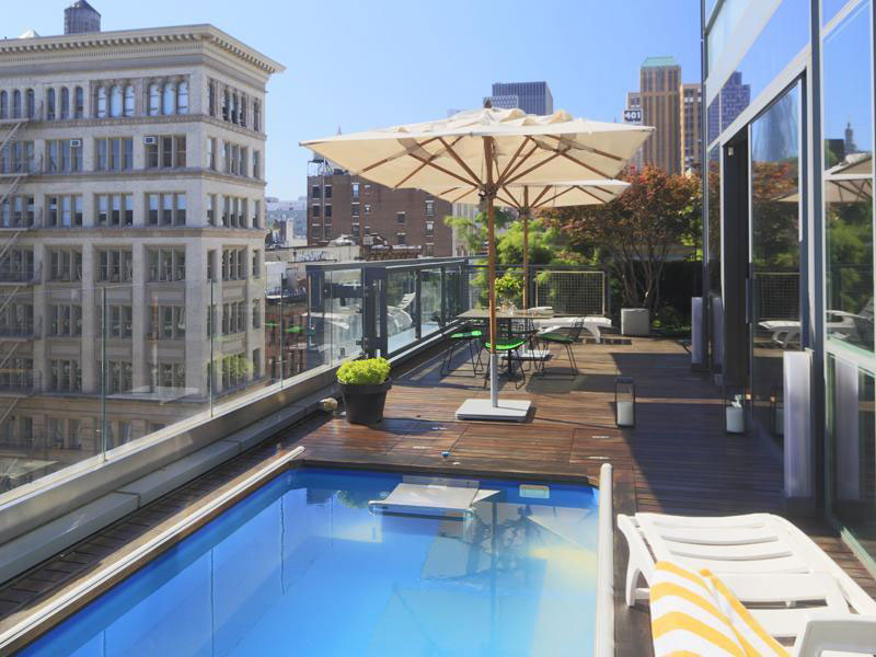 16 Million For Luxury Penthouse Atop 40 Mercer In The