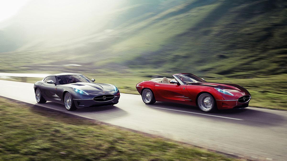 lyonheart k modern version of jaguar e type extravaganzi