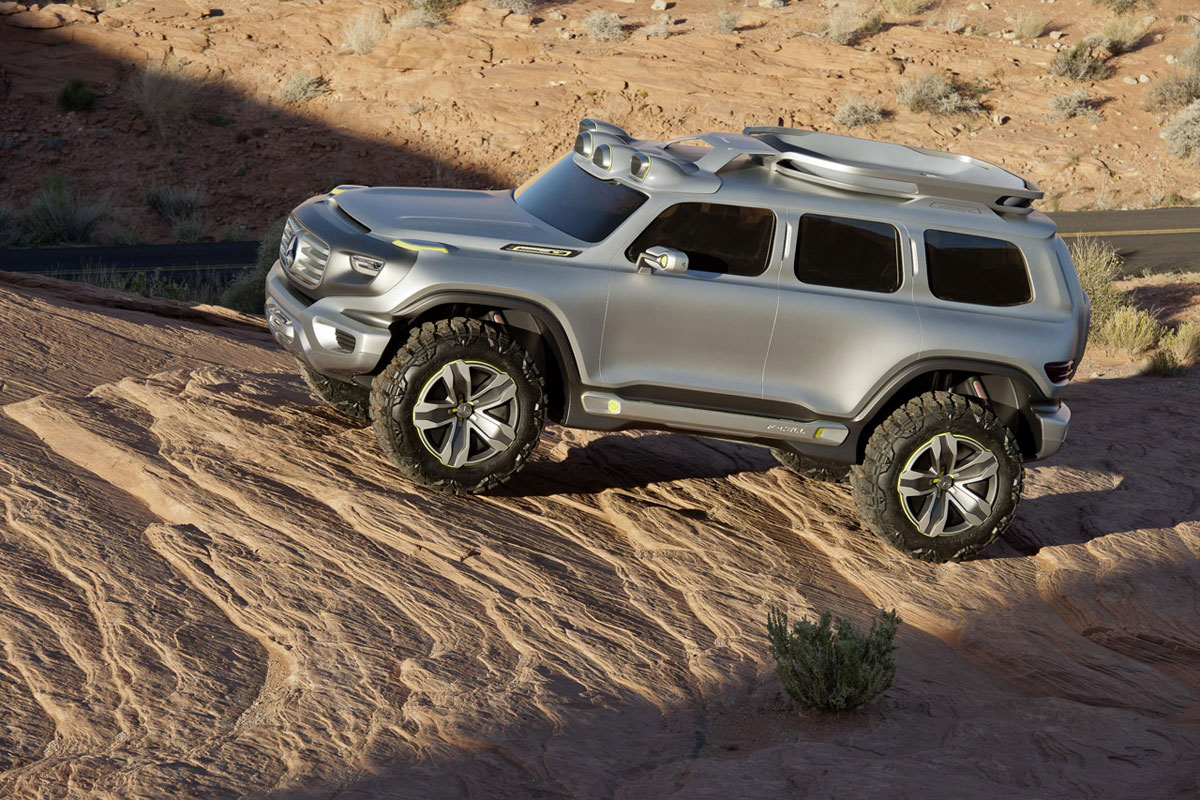 Mercedes Ener-G-Force 2025 SUV