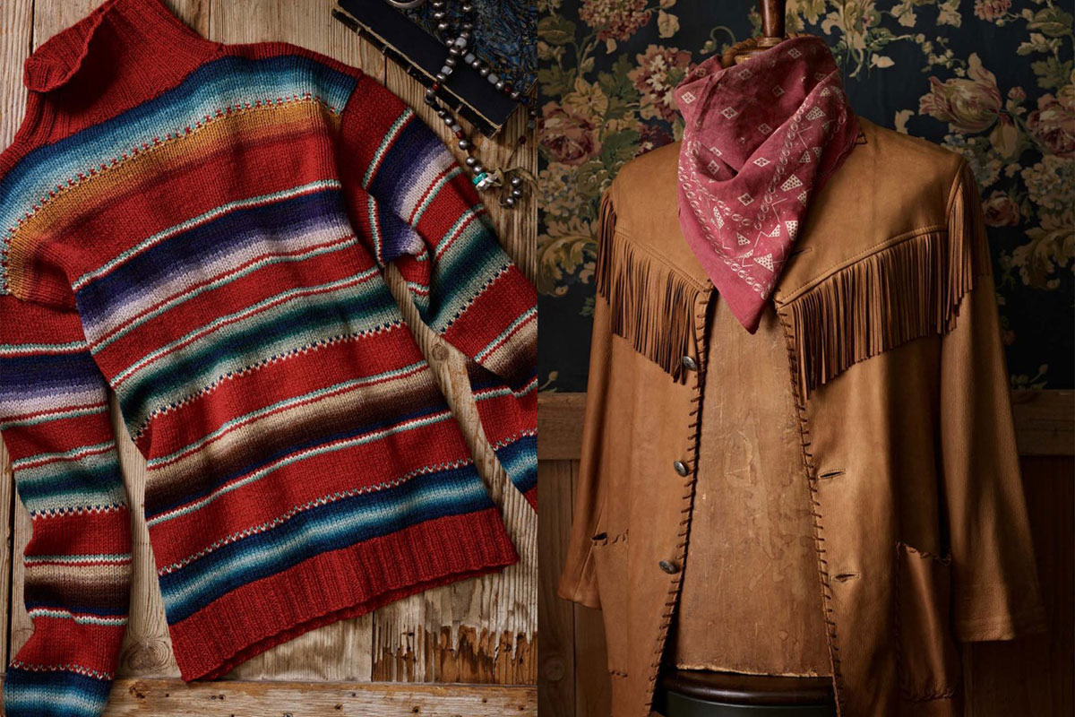 Ralph Lauren Unveiles New Vintage Line with Western Motifs