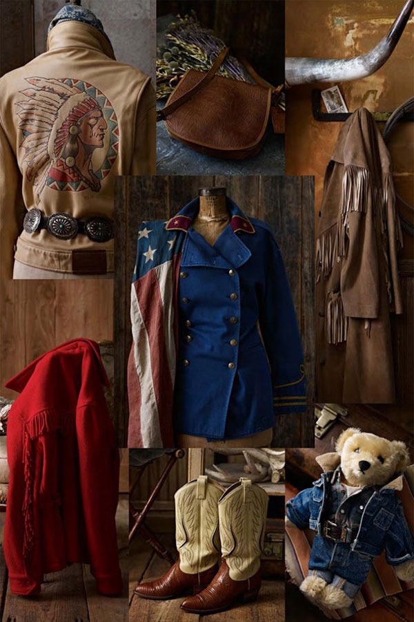 Vintage Clothing Do You Think Its Coming Back: Ralph Lauren Unveiles New Vintage Line With Western Motifs