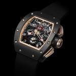 Richar Mille's New RM 011 Felipe Massa Flyback Chronograph Black Kite