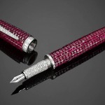 M.S. Rau Antiques Offers $595,000 Ruby and Diamond Fountain Pen