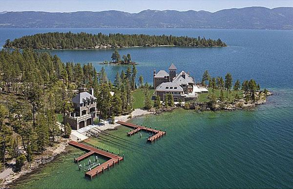 Island For Sale Flathead Lake Mt