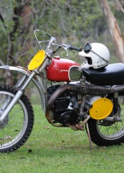 Steve McQueen's Husqvarna 400 Cross Goes Under the Hammer at Bonhams