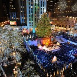 Swarovski Star Sit Atop the 2012 Rockefeller Center Christmas Tree