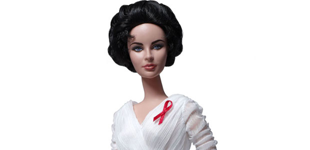 Elizabeth Taylor White Diamonds Doll pays homage to the late star