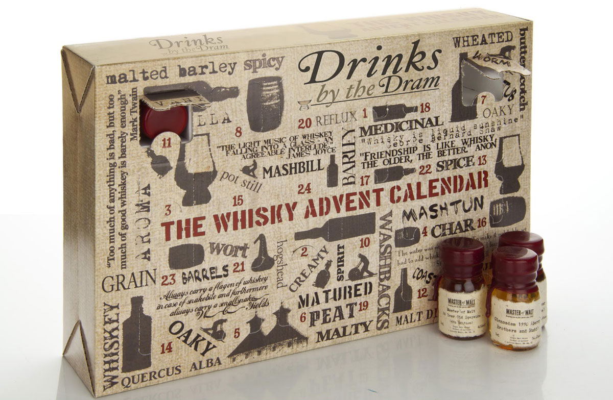 The Whisky Advent Calendar For Cheerful Anticipation Of