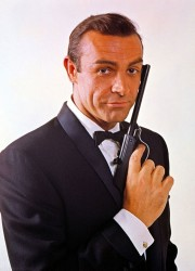 Walther Air Pistol held by Sean Connery on James Bond Poster Could fetch £150,00 at Auction