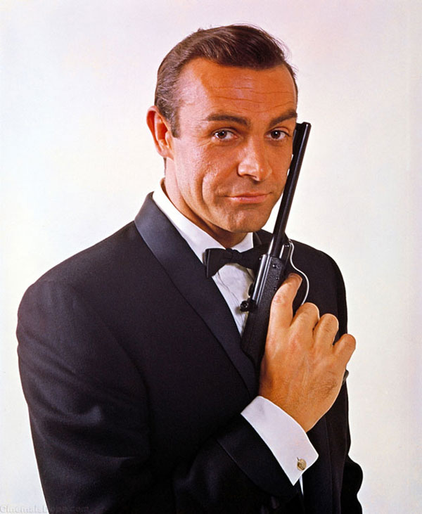 Sean Connery as James Bond in 1963 film From Russia With Love
