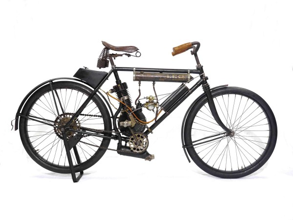 California-made rare 107 year-old 1905 Leo Motorcycle up for grabs