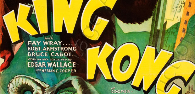 Rare Large Scale 1933 King Kong Poster Set House Record In Heritage Auctions