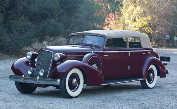 1935 Cadillac V-12 Convertible Sedan by Fleetwood