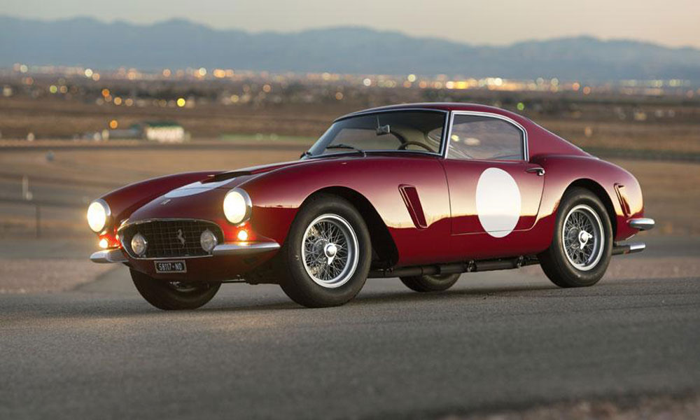 1960 Ferrari 250 GT SWB Berlinetta Competizione Goes Under the Hammer at RM Auctions Arizona