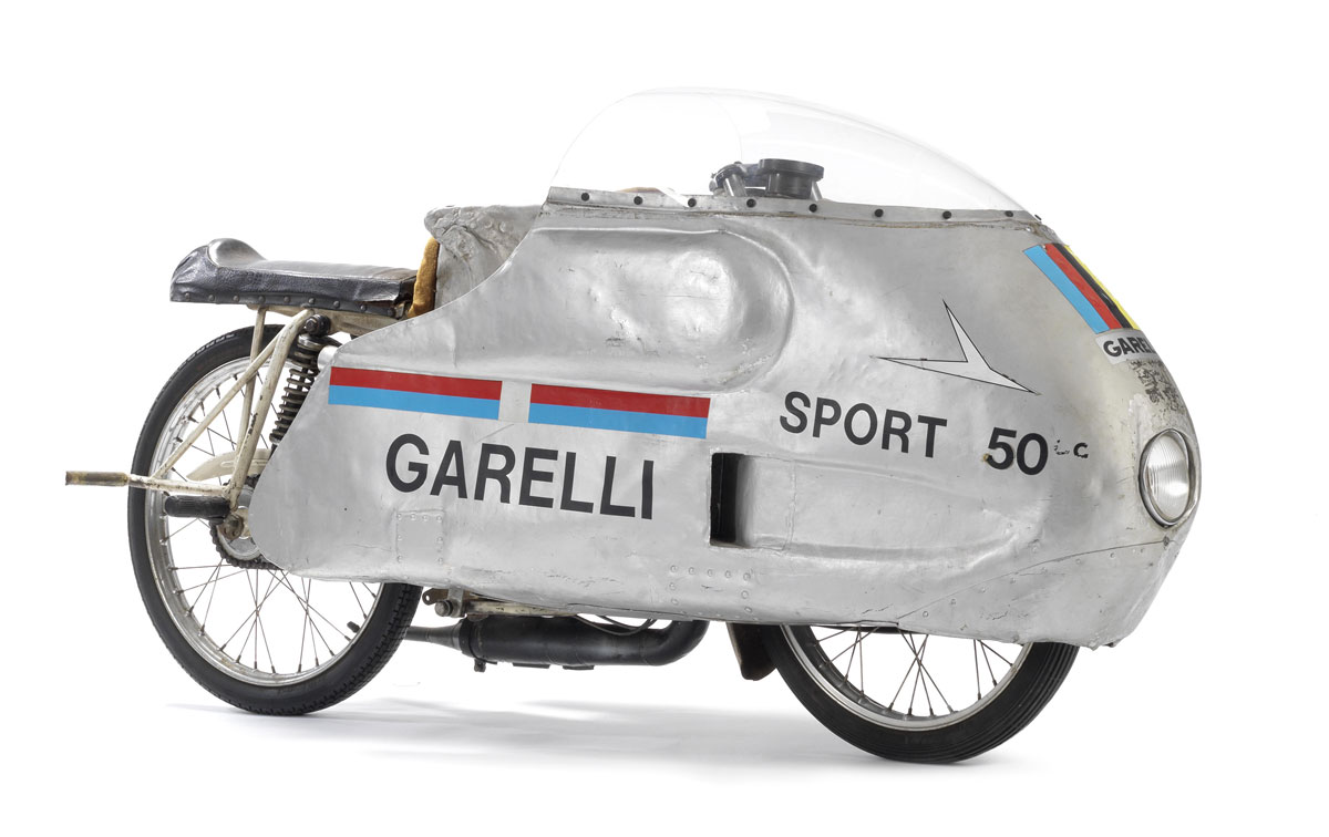 1965 Garelli Monza Record Breaking Motorcycle