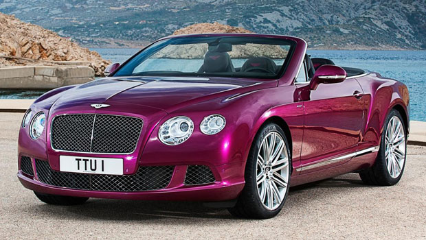 2013 Bentley Continental GT Speed Convertible Photos Leaked Out