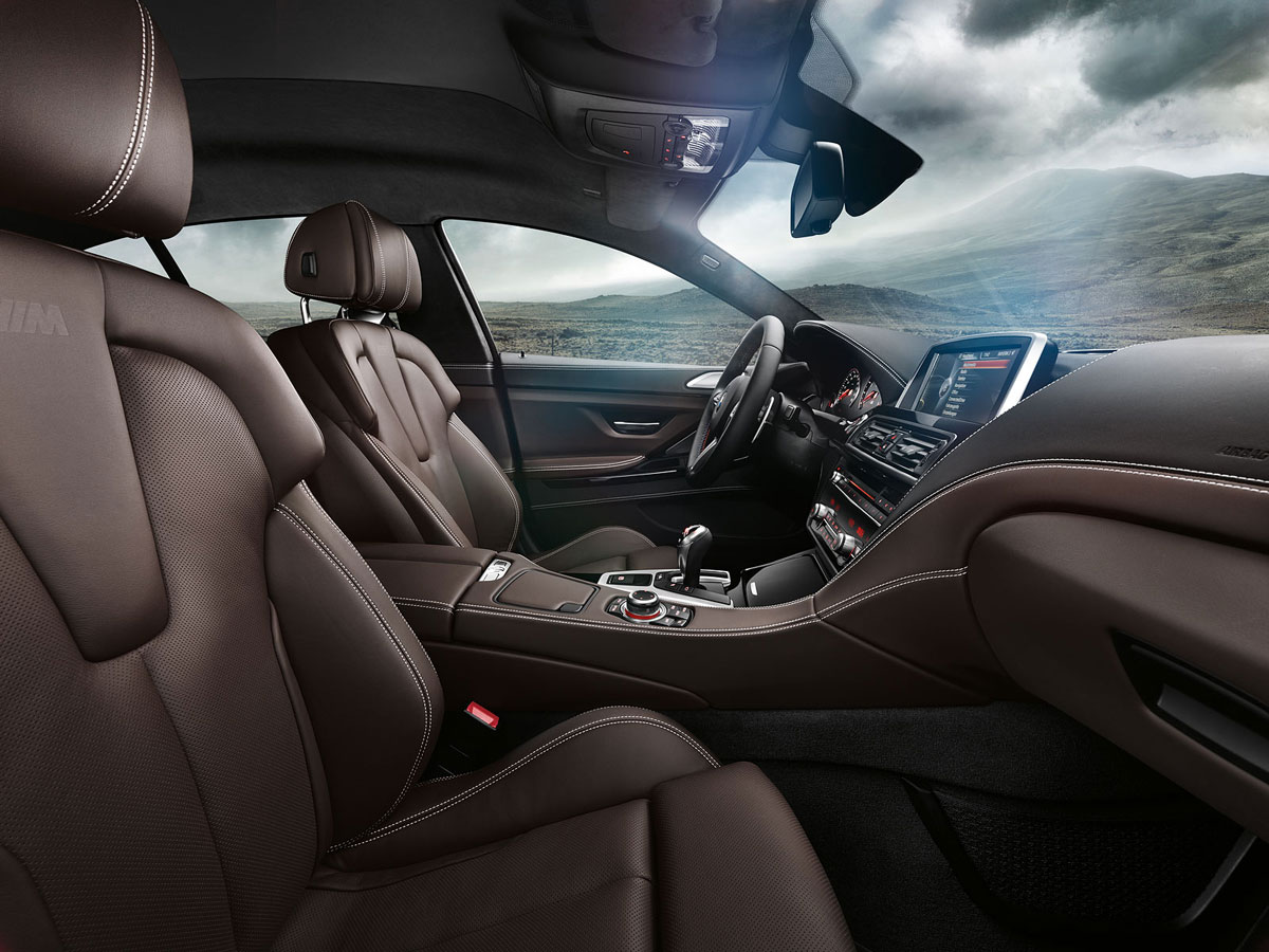 2014 bmw m6 gran coupe officialy unveiled extravaganzi - Bmw m6 gran coupe interior ...