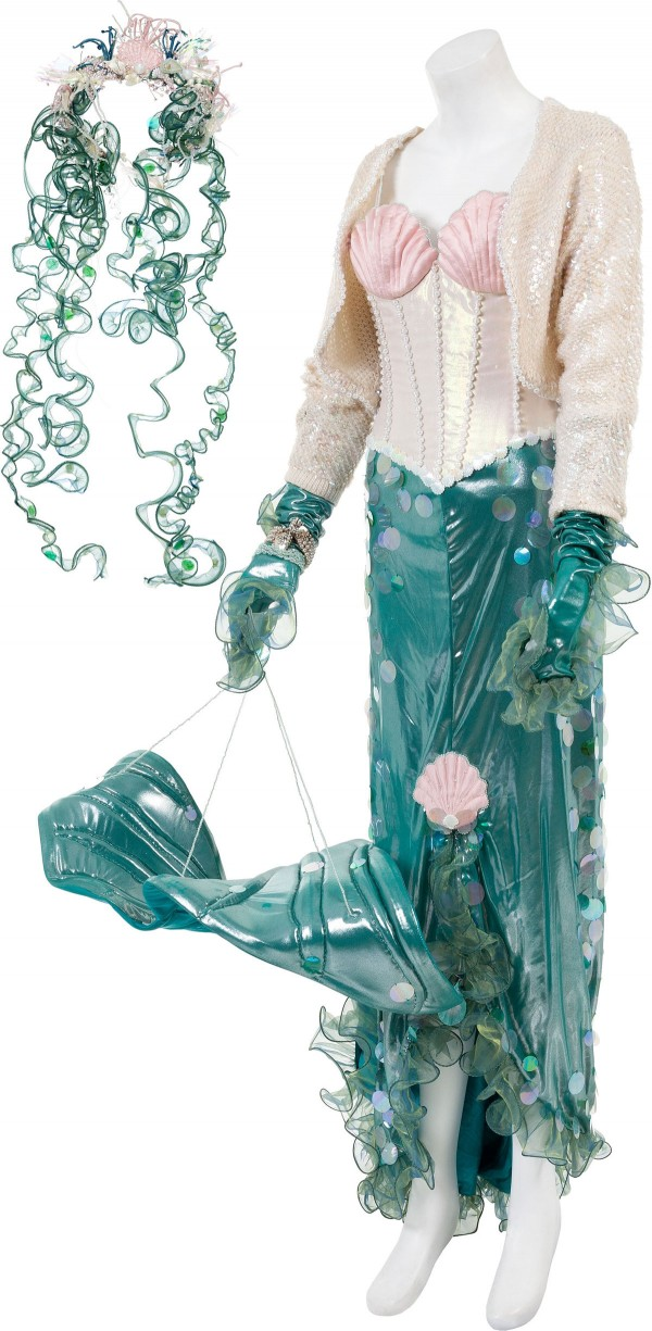 Mermaid costume worn by Cher in the 1990 film Mermaids