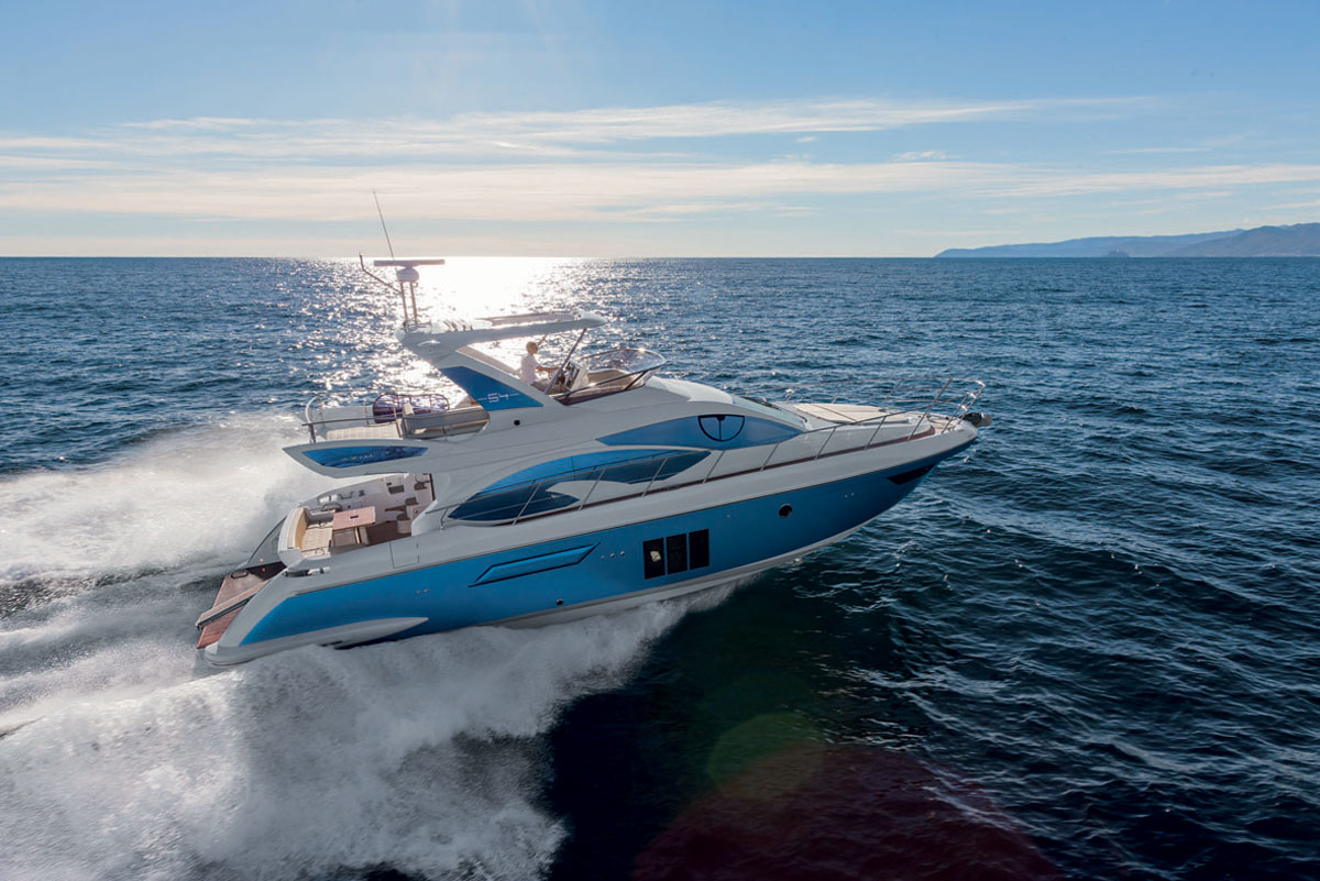  Our Boat of the Month for May - Azimut 54