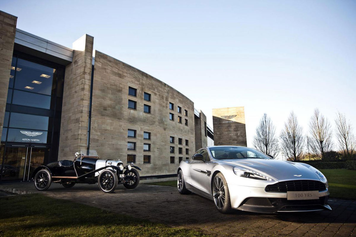 Aston Martin 100th Anniversary to Remember