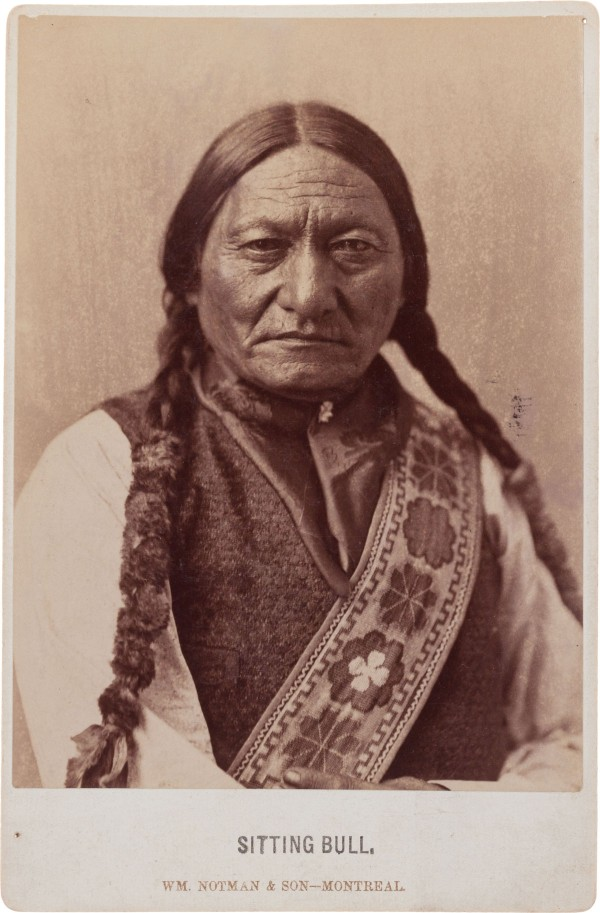 1885 cabinet photo of Sitting Bull, expected to bring $4,000+