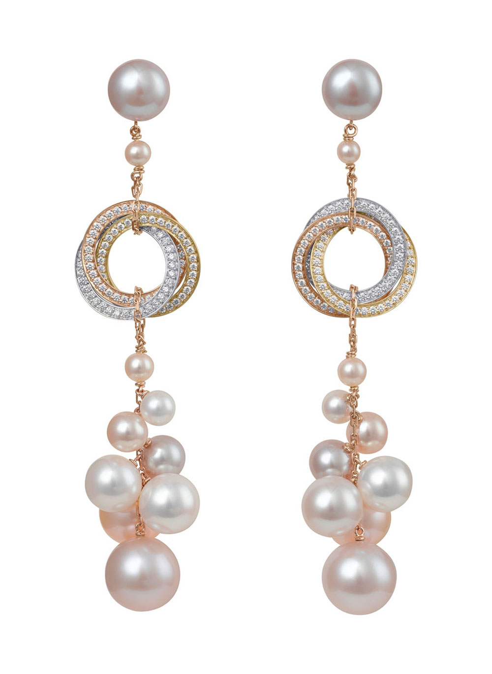 Cartier S New Trinity Collection Shows The Power Of Pearls