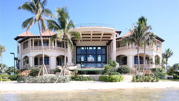 $40 Million Castillo Caribe, Luxury Beachfront Mansion in the Cayman Islands
