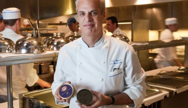French Celebrity Chef Eric Ripert Now Launched His Own Line of Extravagant Caviar